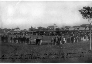Victoria (nome antigo) x Santos Dumont pelo estadual de 1907. (Divulgação / Memorial ECV)
